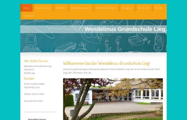 Vorschau von www.grundschule-lieg.de, Wendelinus-Grundschule Lieg