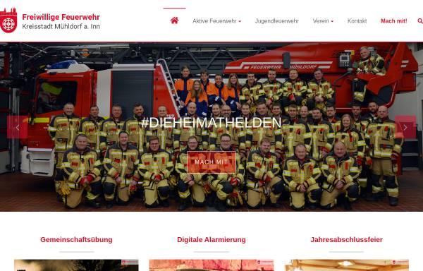 Vorschau von www.feuerwehr-muehldorf.de, Freiwillige Feuerwehr Mühldorf