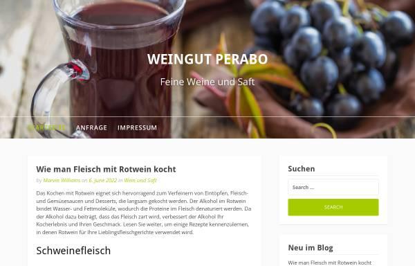 Vorschau von www.weingut-perabo.de, Weingut Fritz Perabo