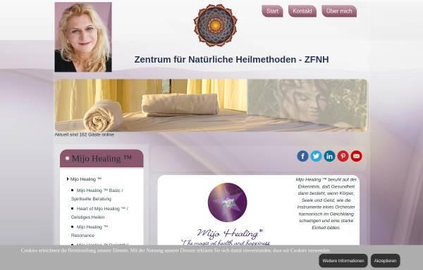 Vorschau von www.zfnh.de, Zentrum für Natürliche Heilmethoden