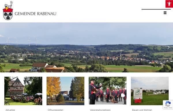 Vorschau von www.gemeinde-rabenau.de, Gemeinde Rabenau