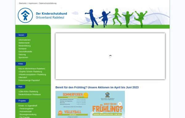 Vorschau von www.dksb-radebeul.de, Deutscher Kinderschutzbund Ortsverband Radebeul e.V.