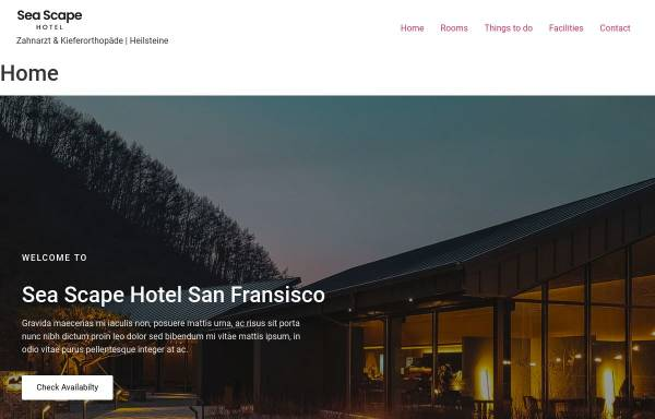Vorschau von www.pro-sporthotel.de, Sporthotel Kannenbäckerland