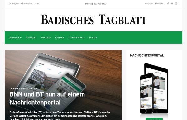 Bad Tagblatt Gaggenau