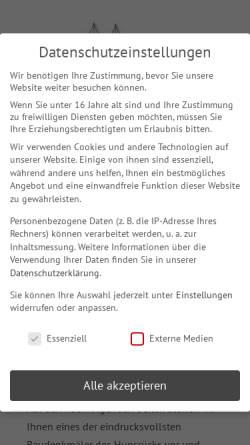 Vorschau der mobilen Webseite www.hunsruecker-dombauverein.de, Kloster Ravengiersburg - Wikipedia