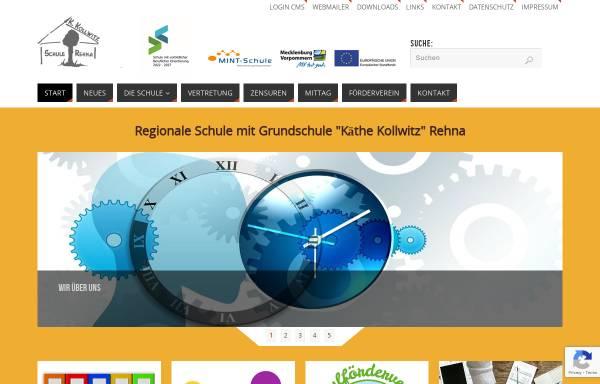 Vorschau von www.schule-rehna.de, Schule Rehna