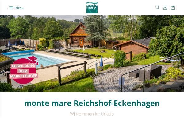 Vorschau von www.monte-mare.de, Monte Mare Freizeitbad Eckenhagen