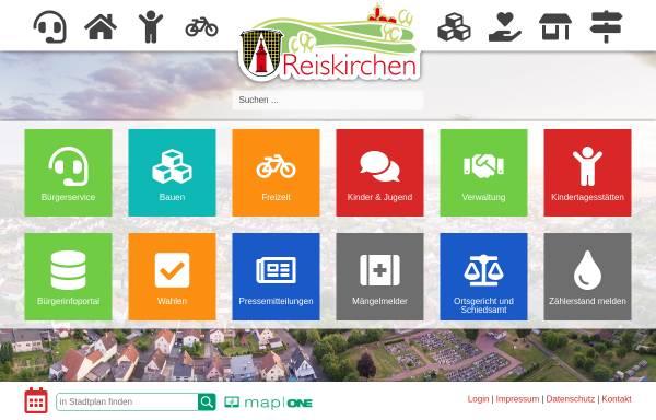 Vorschau von www.gemeinde-reiskirchen.de, Gemeinde Reiskirchen