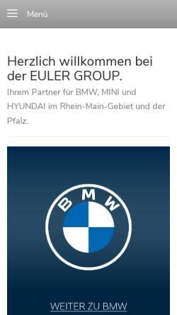 Vorschau der mobilen Webseite www.autowelt-winter.de, Autohaus Winter KG