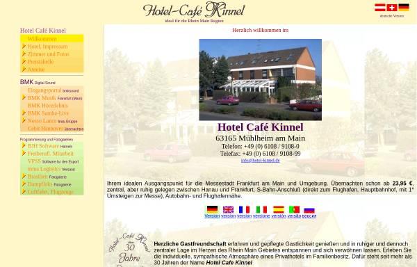 Vorschau von www.hotel-kinnel.de, Hotel Cafe Kinnel