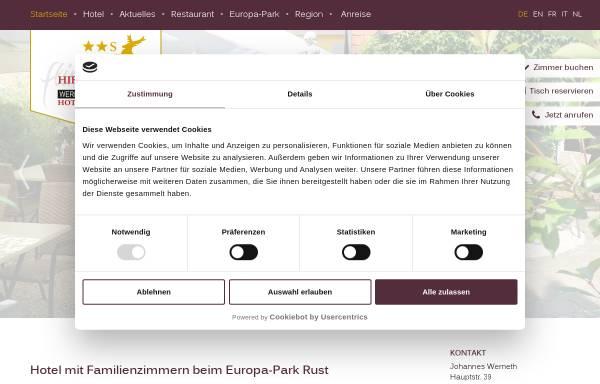 Vorschau von www.wernethslandgasthof.de, Werneths Landgasthof Hirschen