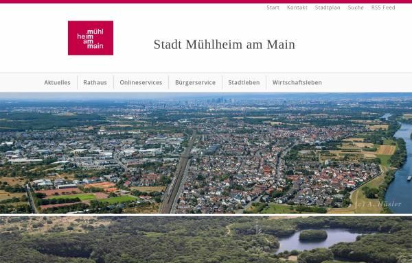 Vorschau von www.muehlheim.de, Stadt Mühlheim