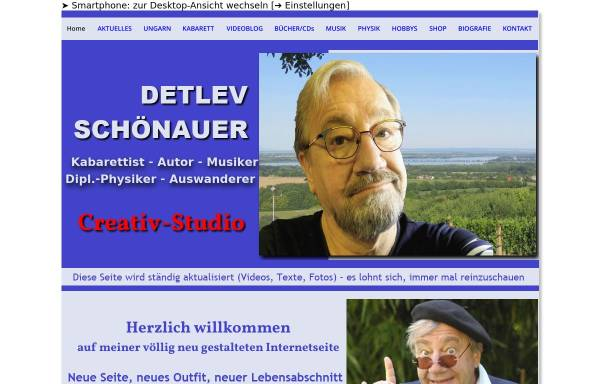 Vorschau von www.schoenauer.de, Schönauer, Detlev