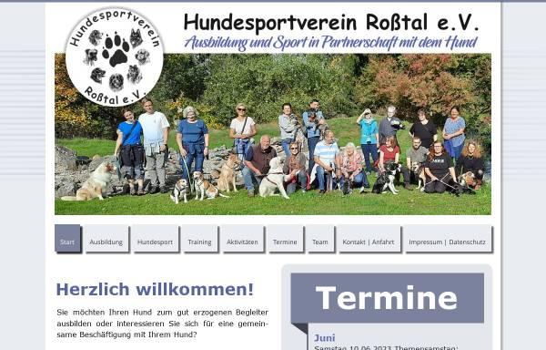 Vorschau von www.hsv-rosstal.de, HSV-Roßtal