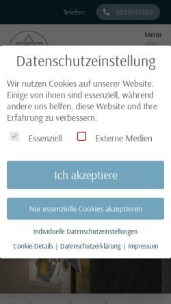 Vorschau der mobilen Webseite www.natursteine-schaedler.de, Natursteine-Schädler