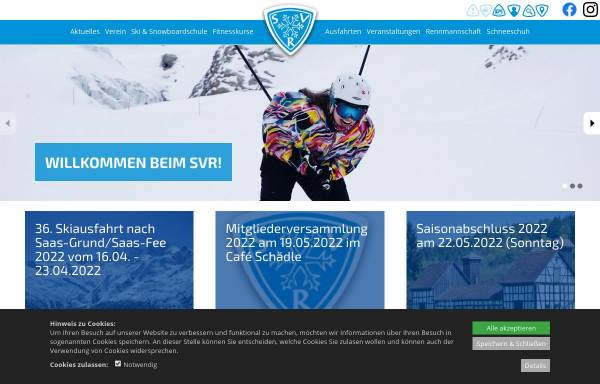 Vorschau von www.svrw.de, Schneelauf Verein Rottweil e.V.