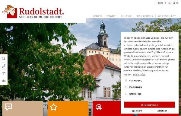Vorschau von www.rudolstadt.de, Stadt Rudolstadt