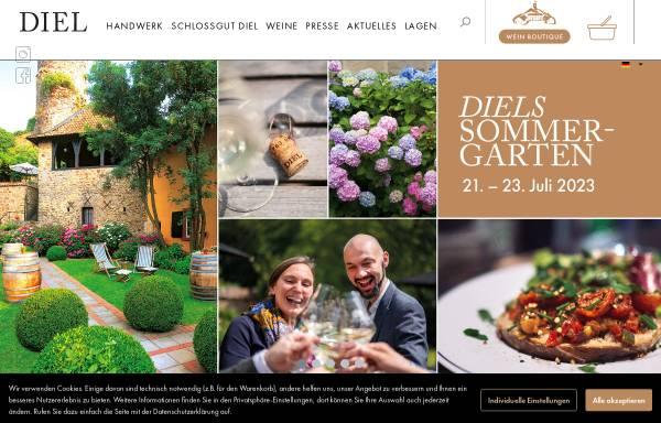 Vorschau von www.schlossgut-diel.com, Schlossgut Diel