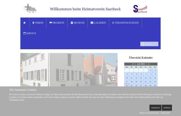Vorschau von www.heimatverein-saerbeck.de, Heimatverein Saerbeck e.V.