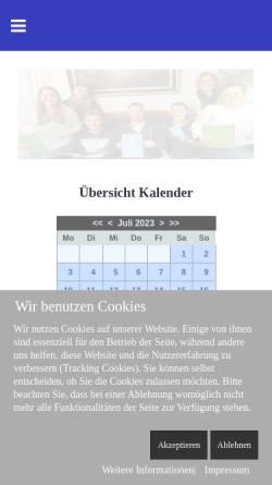 Vorschau der mobilen Webseite www.heimatverein-saerbeck.de, Heimatverein Saerbeck e.V.