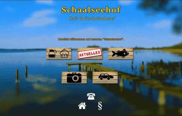 Vorschau von www.schaalseehof.de, Cafe und Heuherberge Schaalseehof