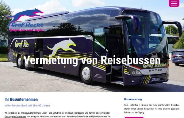 Vorschau von www.graf-recke-reisen.de, Graf Recke GmbH Busreisen