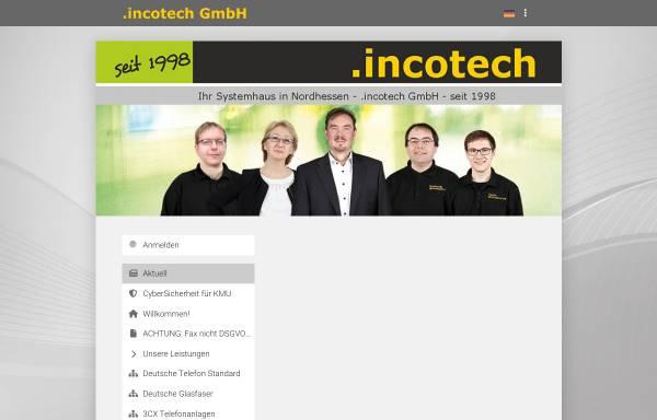 Vorschau von incotech.de, Incotech GmbH