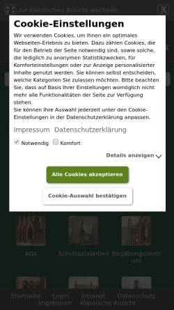 Vorschau der mobilen Webseite www.domschule-sl.de, Domschule Schleswig