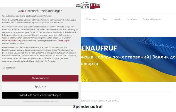 Vorschau von www.stalag326.de, Förderverein Dokumentationsstätte Stalag 326 (VI K) Senne e.V.