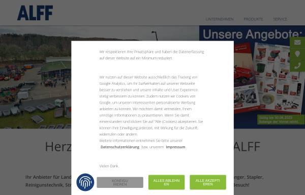 Vorschau von www.alff-schoenecken.de, Firma Friedrich Alff