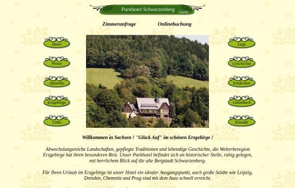 Vorschau von www.parkhotel-schwarzenberg.de, Parkhotel Schwarzenberg