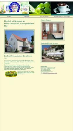 Vorschau der mobilen Webseite www.hotel-schwegenheimer-hof.de, Hotel-Restaurant Schwegenheimer Hof