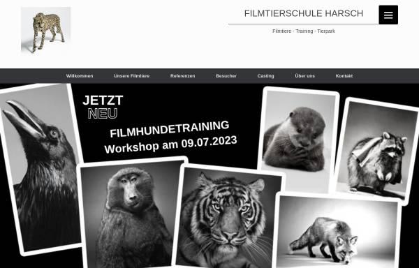Vorschau von www.filmtierschule-harsch.de, Filmtierschule Harsch