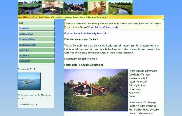 Vorschau von www.ferienhaus-schleswig-holstein.com, Ferienhaus Gyde Diederich