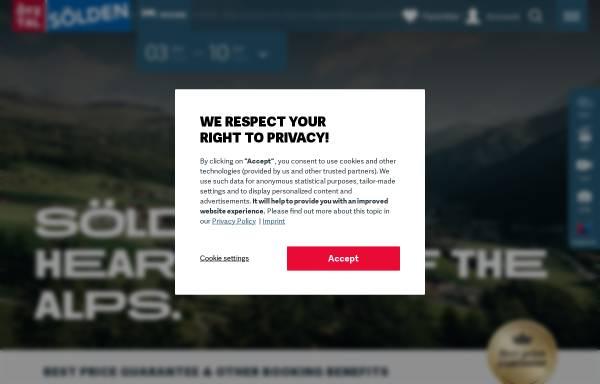 Vorschau von www.soelden.com, Sölden
