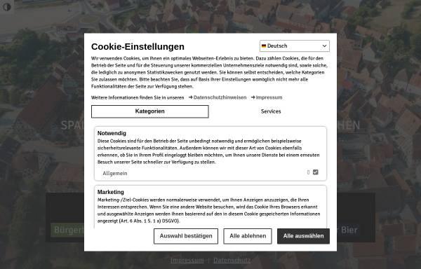 Vorschau von www.spalt.de, Stadt Spalt