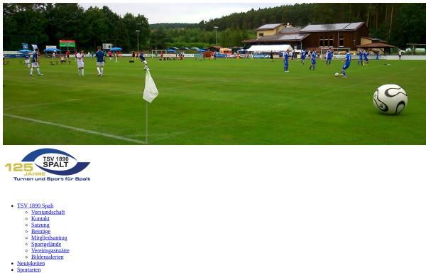 Vorschau von www.tsv-spalt.de, TSV Spalt - Turn- Sportverein 1890
