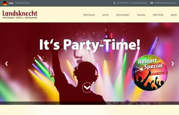 Vorschau von www.hotel-landsknecht.com, Hotel Restaurant Landsknecht