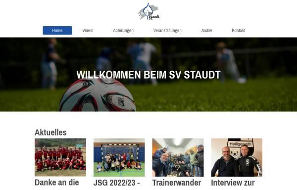 Vorschau von www.sv-staudt.de, SV Staudt 1907 e.V.