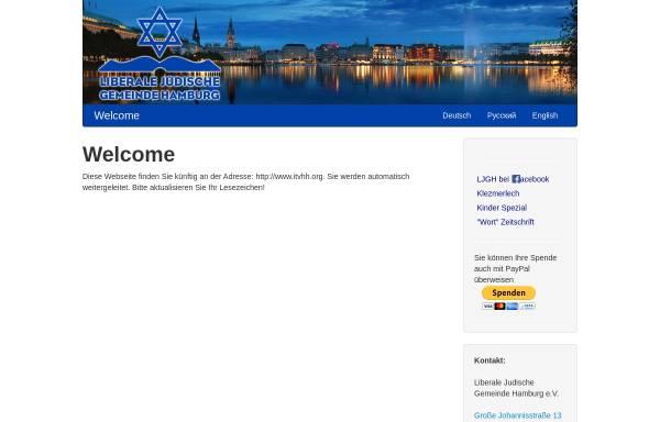 Vorschau von www.davidstern.de, Liberale Jüdische Gemeinde Hamburg