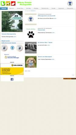 Vorschau der mobilen Webseite www.tierheim-wannigsmuehle.de, Tierheim Wannigsmühle