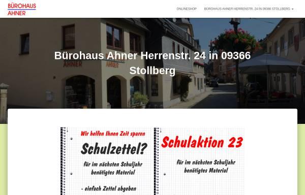 Vorschau von buerohaus-ahner.de, Bürohaus Ahner