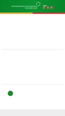 Vorschau der mobilen Webseite www.kindertheater-burattino.de, Kinder- und Jugendtheater BURATTINO