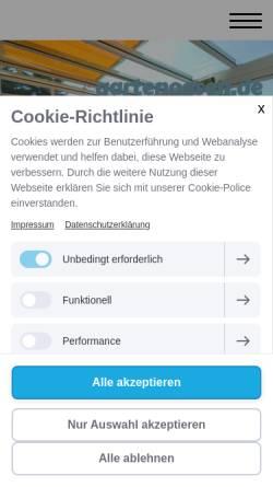 Vorschau der mobilen Webseite www.fut-wintergaerten.de, F&T - Fenster-Türen-Bauelemente GmbH