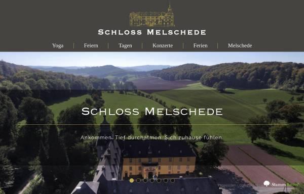 Vorschau von schloss-melschede.de, Schloss Melschede
