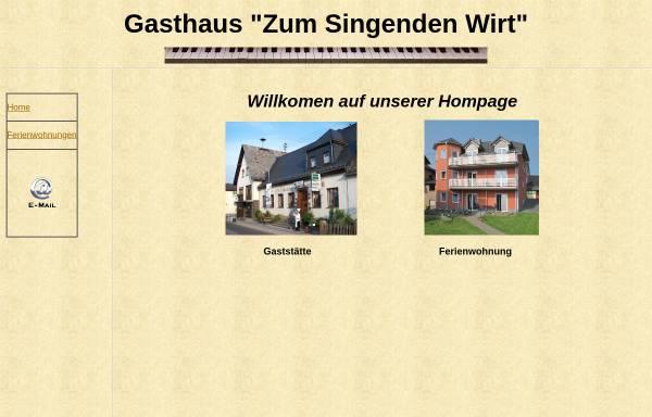 Vorschau von www.zum-singenden-wirt.de, Gasthaus