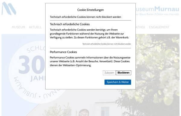 Vorschau von schlossmuseum-murnau.de, Schlossmuseum Murnau