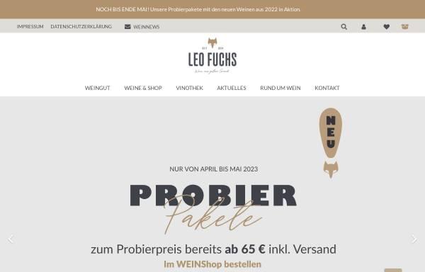 Vorschau von www.leo-fuchs.de, Weingut Leo Fuchs