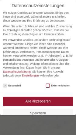 Vorschau der mobilen Webseite www.die-weinmanufaktur.de, Weinmanufaktur Helmut Schneiders