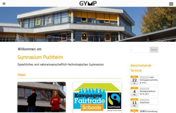 Vorschau von www.gymnasium-puchheim.de, Gymnasium Puchheim